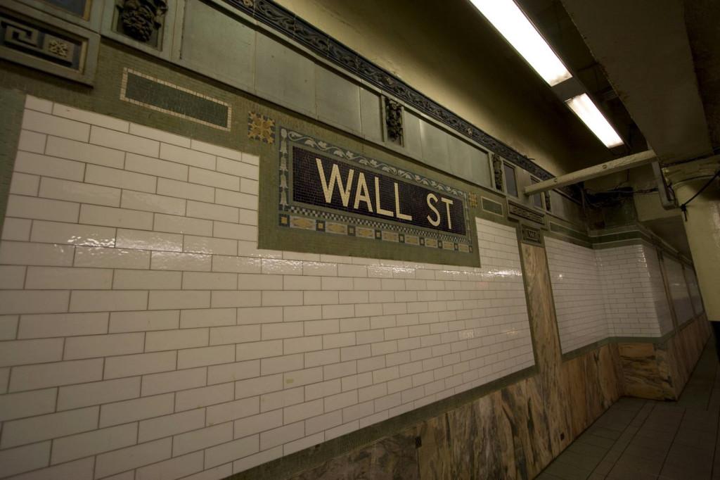 Станция метро Wall Street