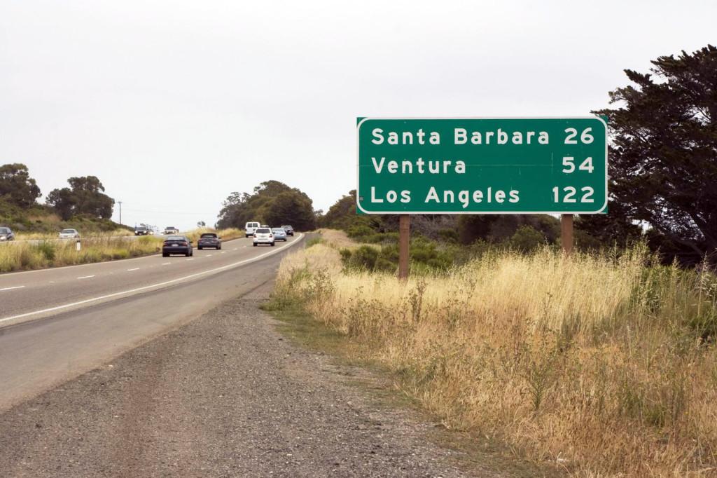 До Санта-Барбары всего 26 миль