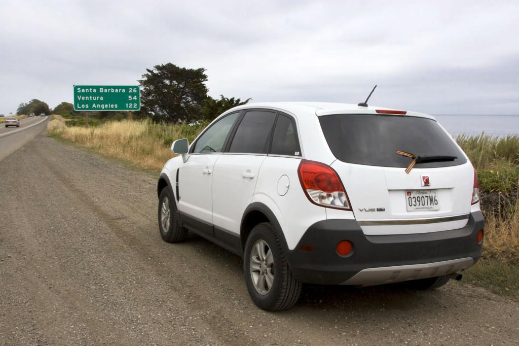 Наш автомобиль с неизменной георгиевской лентой отпахал уже 4800 миль