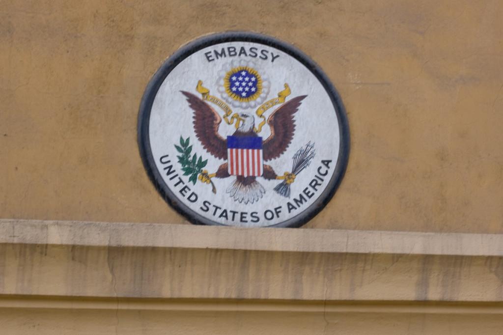 Эмблема посольства Соединенных Штатов Америки