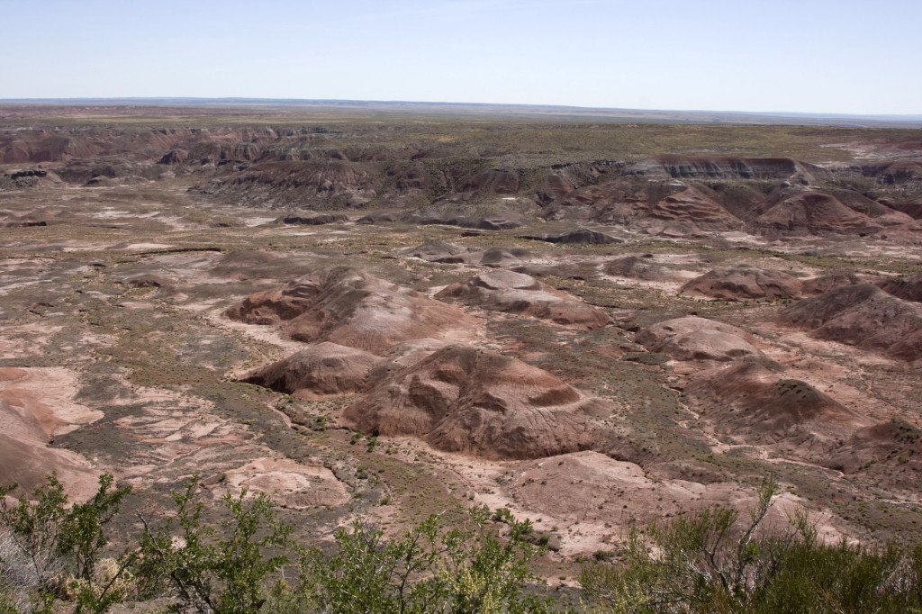 Окрашенная пустыня