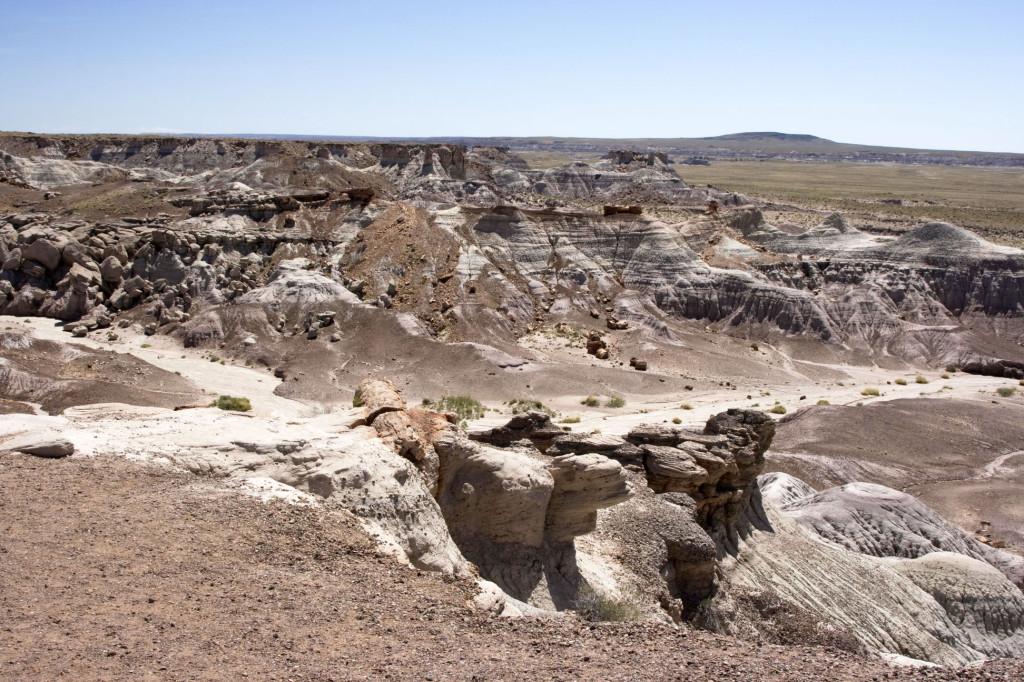 Это место называется Badlands - плохие земли