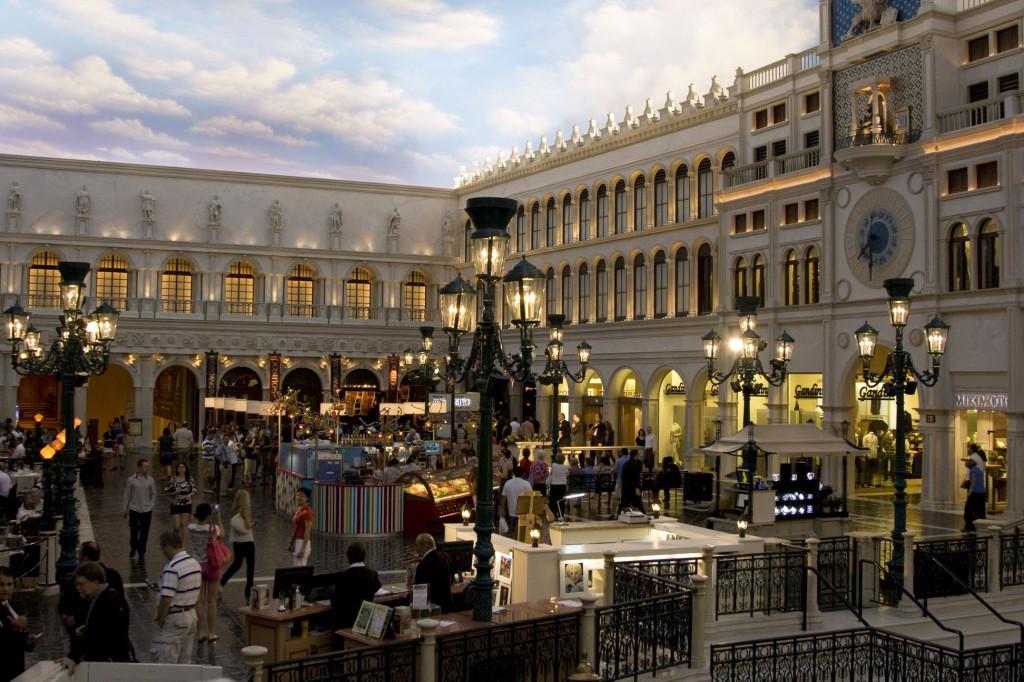Кусочек Венеции в отеле Venetian