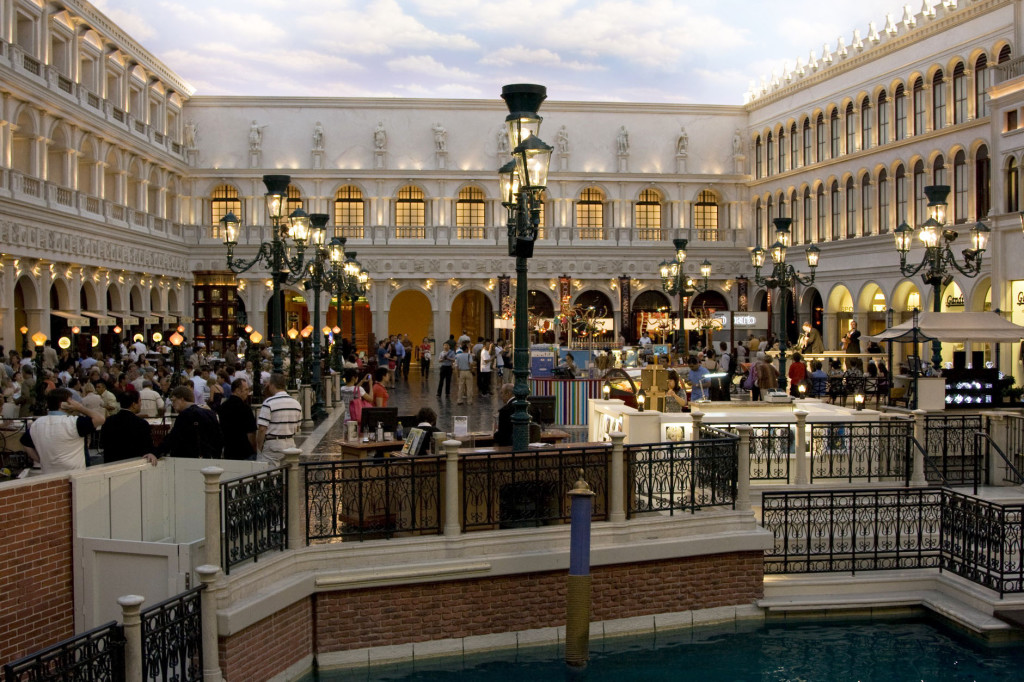 Венецианская площадь Сан-Марко в миниатюре - вся эта красота находится в отеле Venetian