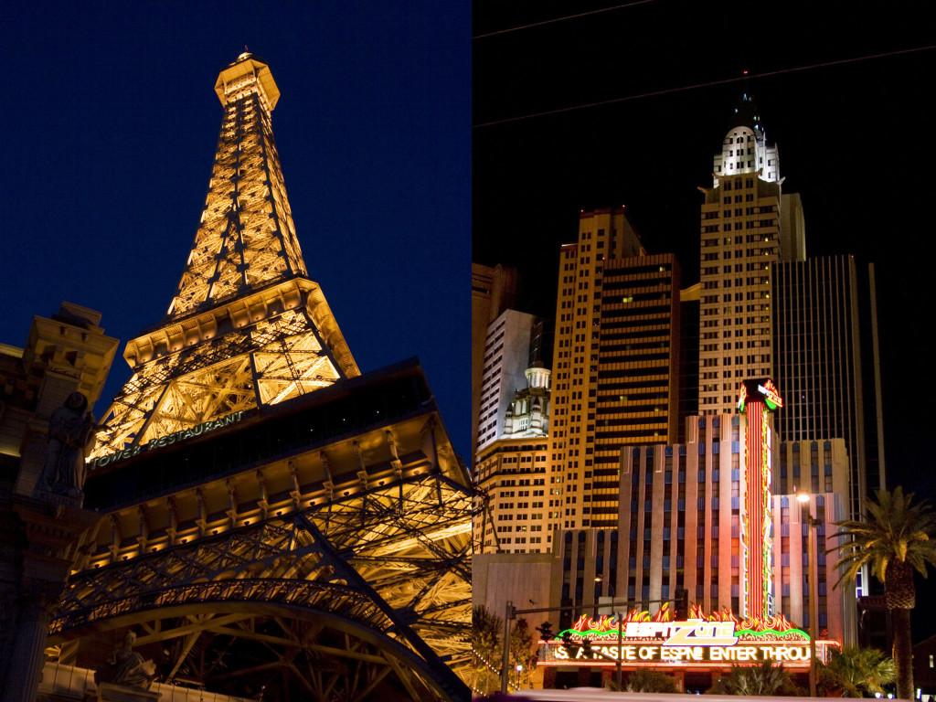 Париж и Нью-Йорк в Лас-Вегасе совсем рядом