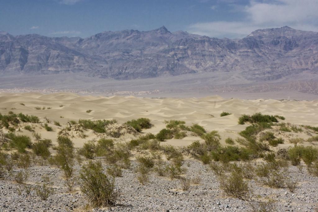Долина Смерти, Sand Dunes