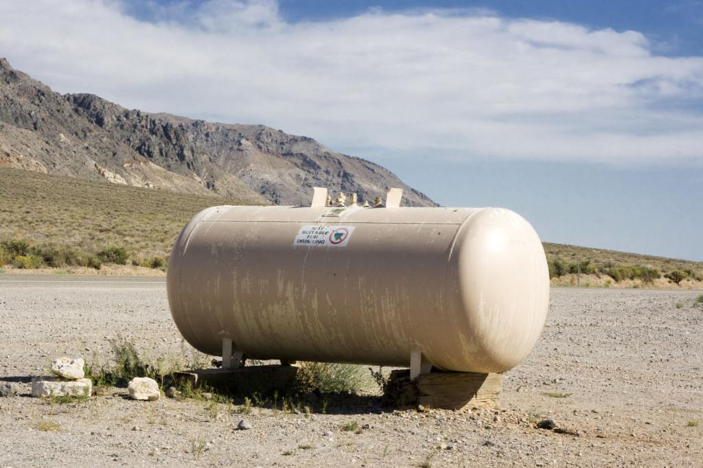 Резервуар с технической водой в Долине Смерти