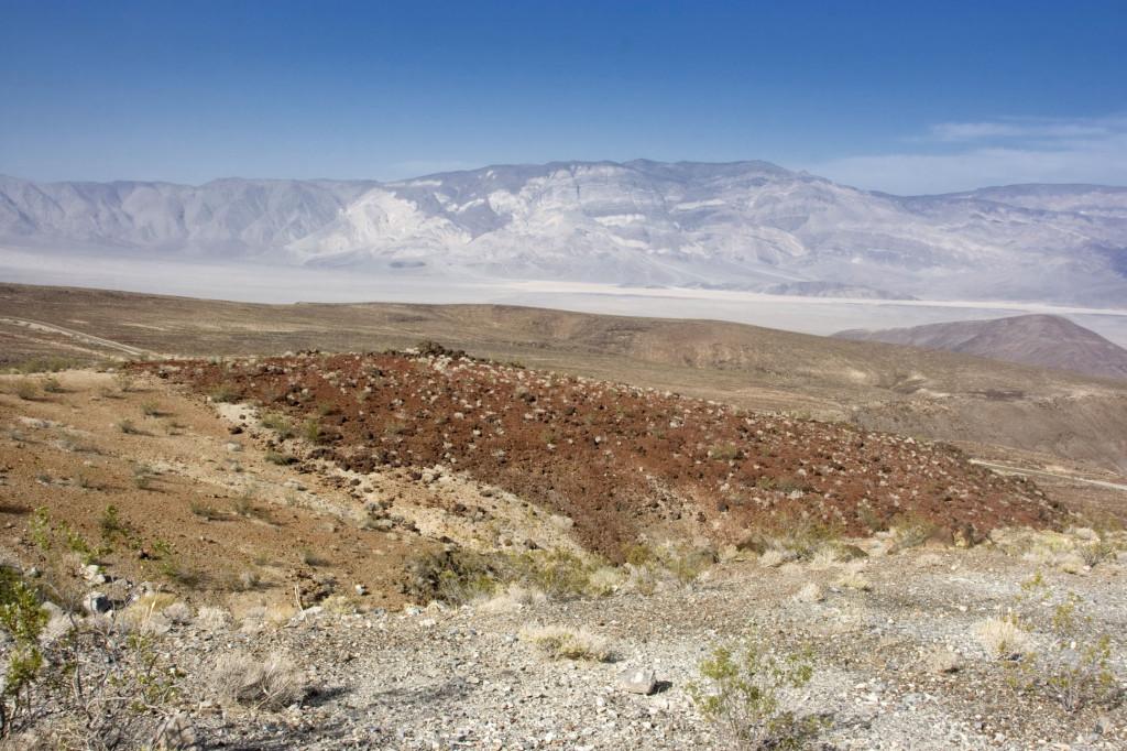 Долина Смерти, в горах Иньо