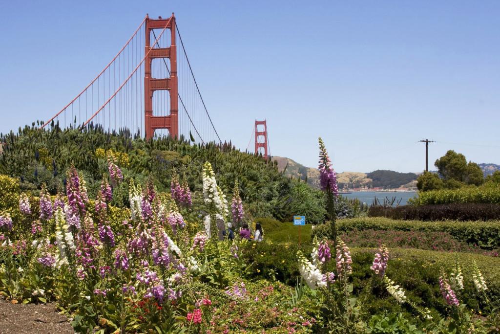 Мост Золотые Ворота (Golden Gate Bridge) – один из символов города Сан-Франциско