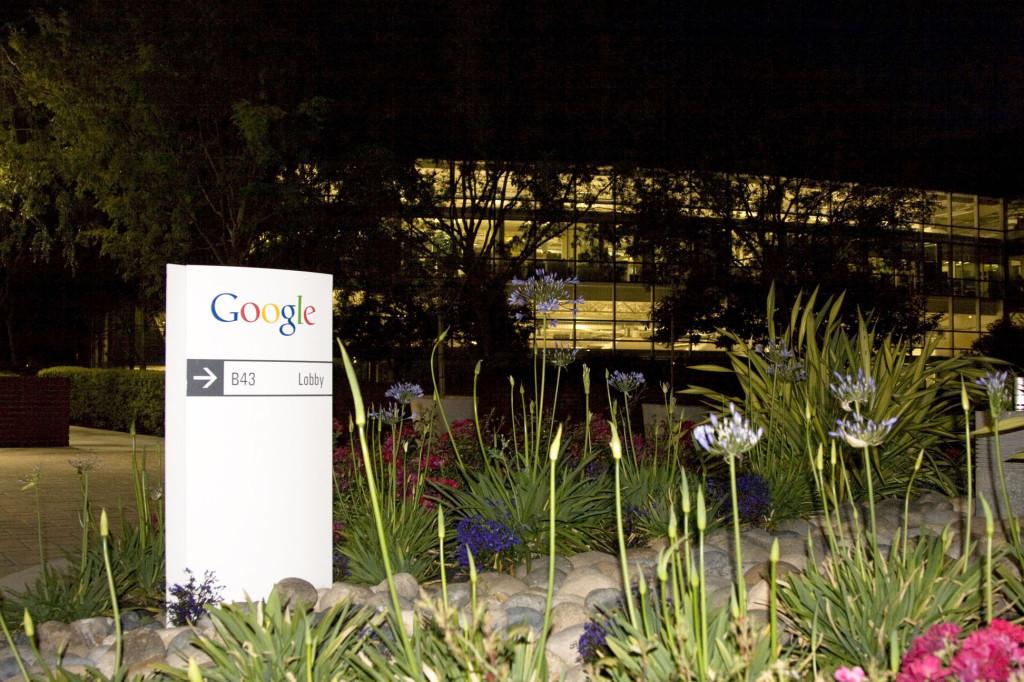 У главного офиса Google в Маунтин-Вью