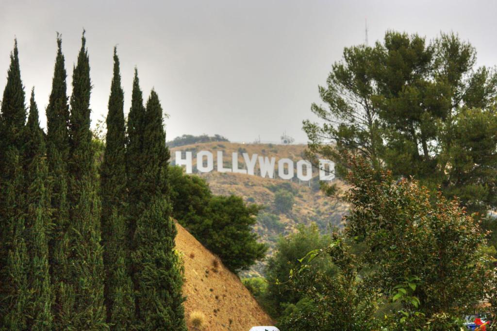 Надпись Голливуд