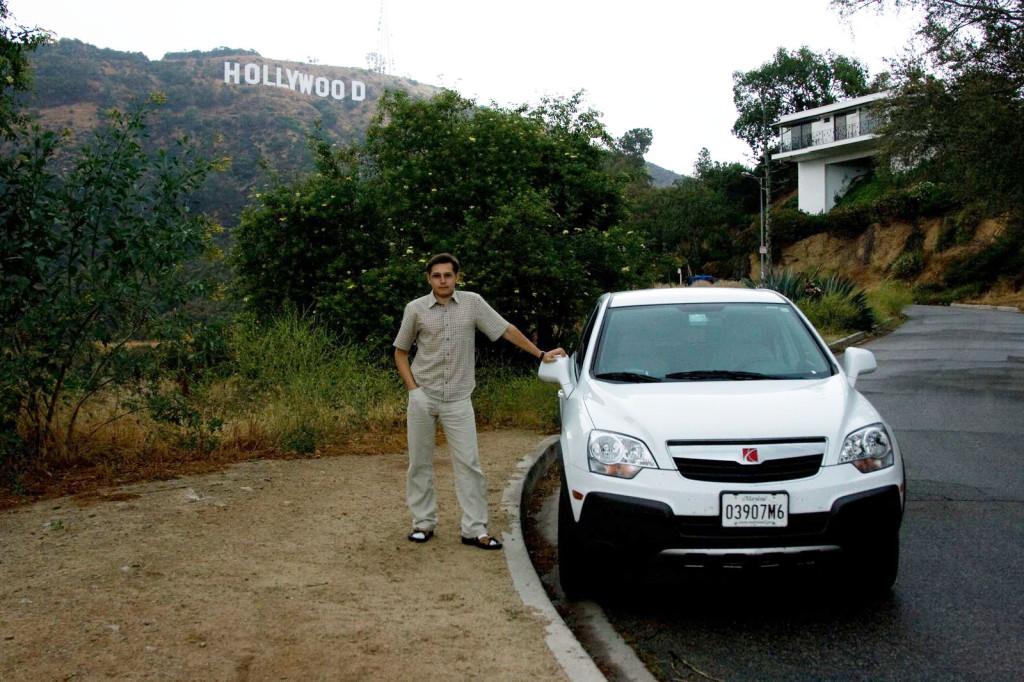 Последний кадр с нашим Сатурном в Голливуде