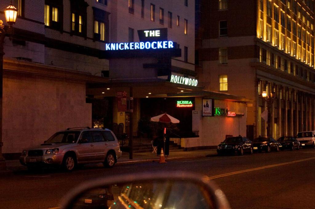 В окрестностях бульвара Голливуд можно встретить даже русский ресторан с оригинальным названием