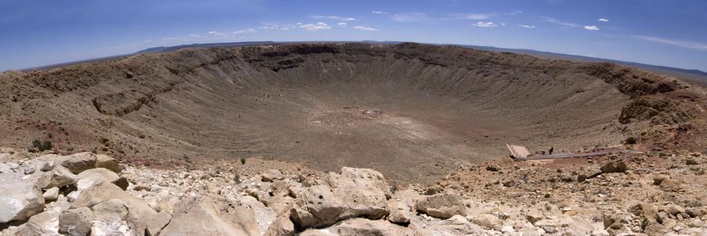 Аризонский кратер. Панорама